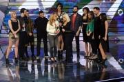 Foto/IPP/Gioia Botteghi 20/02/2015 Roma puntata di forte forte forte ospite Anastacia con Raffaella Carrà con tutti i ragazzi partecipanti