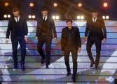Foto/IPP/Gioia Botteghi 20/02/2015 Roma puntata di forte forte forte ospite Morgan De Sanctis, Leandro Paredes, Rudi Garcia, Antonio Sanabria