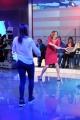 Foto/IPP/Gioia Botteghi 15/12/2014 Roma  La vita in diretta con Cristina Parodi gioca a tennis con Flavia Pennetta