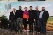 Foto/IPP/Gioia Botteghi 16/02/2015 Roma presentazione del film Noi e la Giulia, nella foto il cast