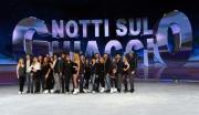 Foto/IPP/Gioia Botteghi 18/02/2015 Roma conferenza di presentazione dello show NOTTI SUL GHIACCIO, nella foto tutti i protagonisti