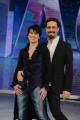 Foto/IPP/Gioia Botteghi 18/02/2015 Roma conferenza di presentazione dello show NOTTI SUL GHIACCIO, nella foto Manuela Di Centa con Andrea Vaturi