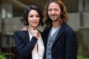 Foto/IPP/Gioia Botteghi 19/02/2015 Roma conferenza di presentazione dell film LE LEGGI DEL DESIDERIO, nella foto: Silvio Muccino con Nicole Grimaudo