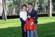 Foto/IPP/Gioia Botteghi 20/02/2015 Roma. Presentazione del film Meraviglioso Boccaccio. Nella foto Jasmine Trinca, Josafat Vagni, Niccolo' Calvagna