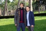 Foto/IPP/Gioia Botteghi 20/02/2015 Roma. Presentazione del film Meraviglioso Boccaccio. Nella foto  Kim Rossi Stuart con Simone Ciampi