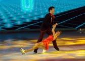 Foto/IPP/Gioia Botteghi 21/02/2015 Roma. prima puntata di Notti sul ghiaccio rai uno, nella foto: Niccolò Centioni e Claudia Iacono