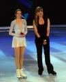 Foto/IPP/Gioia Botteghi 21/02/2015 Roma. prima puntata di Notti sul ghiaccio rai uno, nella foto: Carolina Kostner e Milly Carlucci
