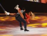 Foto/IPP/Gioia Botteghi 21/02/2015 Roma. prima puntata di Notti sul ghiaccio rai uno, nella foto: Valeria Marini e Federico Degli Esposti