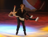 Foto/IPP/Gioia Botteghi 21/02/2015 Roma. prima puntata di Notti sul ghiaccio rai uno, nella foto: Stefano Sala e Serena Angeli