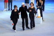 Foto/IPP/Gioia Botteghi 28/02/2015 Roma seconda puntata di Notti sul ghiaccio, nella foto: Flavio Insinna