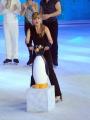 Foto/IPP/Gioia Botteghi 28/02/2015 Roma seconda puntata di Notti sul ghiaccio, nella foto: Milly Carlucci