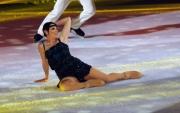 Foto/IPP/Gioia Botteghi 28/02/2015 Roma seconda puntata di Notti sul ghiaccio, nella foto: Manuela Di Centa