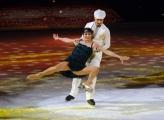 Foto/IPP/Gioia Botteghi 28/02/2015 Roma seconda puntata di Notti sul ghiaccio, nella foto: Manuela Di Centa e Andrea Venturi