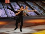 Foto/IPP/Gioia Botteghi 28/02/2015 Roma seconda puntata di Notti sul ghiaccio, nella foto: Giorgio Rocca e Eve Bentley