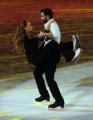 Foto/IPP/Gioia Botteghi 28/02/2015 Roma seconda puntata di Notti sul ghiaccio, nella foto: Barbara De Rossi e Simone Venturi