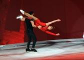 Foto/IPP/Gioia Botteghi 28/02/2015 Roma seconda puntata di Notti sul ghiaccio, nella foto: Chiara Mastalli e Federico Uslenghi