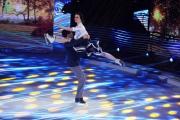 Foto/IPP/Gioia Botteghi 28/02/2015 Roma seconda puntata di Notti sul ghiaccio, nella foto: i campioni Cappellini e La Notte