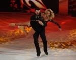 Foto/IPP/Gioia Botteghi 28/02/2015 Roma seconda puntata di Notti sul ghiaccio, nella foto: Valeria Marini e Federico Degli Esposti