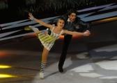 Foto/IPP/Gioia Botteghi 28/02/2015 Roma seconda puntata di Notti sul ghiaccio, nella foto: Stefano Sala e Serena Angeli