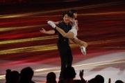 Foto/IPP/Gioia Botteghi 28/02/2015 Roma seconda puntata di Notti sul ghiaccio, nella foto: Giulio Base e Alice Velati