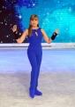 Foto/IPP/Gioia Botteghi 07/03/2015 Roma terza puntata di Notti sul ghiaccio, nella foto: Milly Carlucci
