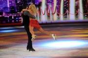 Foto/IPP/Gioia Botteghi 07/03/2015 Roma terza puntata di Notti sul ghiaccio, nella foto: Valeria Marini e Federico Degli Esposti