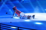 Foto/IPP/Gioia Botteghi 07/03/2015 Roma terza puntata di Notti sul ghiaccio, nella foto: Giorgio Rocca la caduta