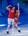 Foto/IPP/Gioia Botteghi 07/03/2015 Roma terza puntata di Notti sul ghiaccio, nella foto: Giorgio Rocca e Eve  Bentley