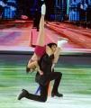 Foto/IPP/Gioia Botteghi 07/03/2015 Roma terza puntata di Notti sul ghiaccio, nella foto: Giulio Base e Alice Velati