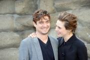 Foto/IPP/Gioia Botteghi 26/02/2015 Romapresentazione del film Nessuno si salva da solo,  nella foto Jasmine Trinca e Riccardo Scamarcio