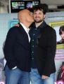 Foto/IPP/Gioia Botteghi 02/03/2015 Roma presentazione del film MA CHE BELLA SORPRESA, nella foto:i Claudio Bisio e Frank Matano