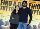 Foto/IPP/Gioia Botteghi 06/03/2015 Roma presentazione del film Fino a qui tutto bene, nella foto: il  regista Roan Johnson  e la sceneggiatrice Ottavia Madeddu