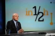 Foto/IPP/Gioia Botteghi 08/03/2015 Roma Puntata di In mezz'ora ospite di Lucia Annunziata Vincenzo De Luca ex sindaco di Salerno