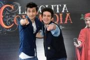 Foto/IPP/Gioia Botteghi 12/03/2015 Roma presentazione del film La solita commedia, nella foto: Fabrizio Biggio, Francesco Mandelli