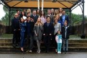 Foto/IPP/Gioia Botteghi 17/03/2015 Roma presentazione della fiction di canale 5 Le tre rose di Eva, nella foto: il cast