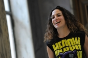 Foto/IPP/Gioia Botteghi 17/03/2015 Roma presentazione della fiction di canale 5 Le tre rose di Eva, nella foto: Serena Iansiti