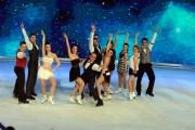 Foto/IPP/Gioia Botteghi 21/03/2015 Roma finale di Notti sul ghiaccio, nella foto tutti i pattinatori