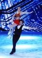 Foto/IPP/Gioia Botteghi 21/03/2015 Roma finale di Notti sul ghiaccio, nella fotoi vincitori Giorgio Rocca e Eve Bentley