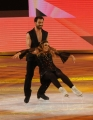 Foto/IPP/Gioia Botteghi 21/03/2015 Roma finale di Notti sul ghiaccio, nella foto l'ultima classificata Barbara De Rossi e Simone Venturi