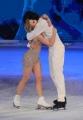 Foto/IPP/Gioia Botteghi 21/03/2015 Roma finale di Notti sul ghiaccio, nella foto i terzi classificati Stefano Sala e Serena Angeli