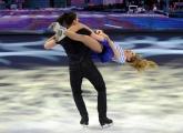Foto/IPP/Gioia Botteghi 21/03/2015 Roma finale di Notti sul ghiaccio, nella foto i terzi classificati Clara Alonso e Marco Garavaglia