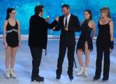 Foto/IPP/Gioia Botteghi 21/03/2015 Roma finale di Notti sul ghiaccio, nella fotopremio della giuria a Giorgio Borghetti e Federica Costantini