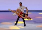 Foto/IPP/Gioia Botteghi 21/03/2015 Roma finale di Notti sul ghiaccio, nella foto Clara Mastalli e Federico Uslenghi