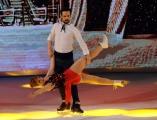 Foto/IPP/Gioia Botteghi 21/03/2015 Roma finale di Notti sul ghiaccio, nella foto Chiara Mastalli e Federico Uslenghi