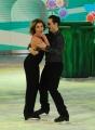Foto/IPP/Gioia Botteghi 21/03/2015 Roma finale di Notti sul ghiaccio, nella foto Claudia Gerini