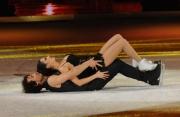 Foto/IPP/Gioia Botteghi 21/03/2015 Roma finale di Notti sul ghiaccio, nella foto i vincitori Giorgio Rocca e Eve Bentley