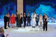 Foto/IPP/Gioia Botteghi 21/03/2015 Roma finale di Notti sul ghiaccio, nella foto premiazione