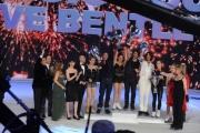 Foto/IPP/Gioia Botteghi 21/03/2015 Roma finale di Notti sul ghiaccio, nella foto i finalisti e la giuria