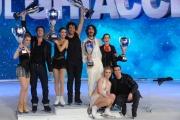 Foto/IPP/Gioia Botteghi 21/03/2015 Roma finale di Notti sul ghiaccio, nella foto i premiati