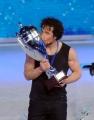 Foto/IPP/Gioia Botteghi 21/03/2015 Roma finale di Notti sul ghiaccio, nella foto il vincitore Girgio Rocca
